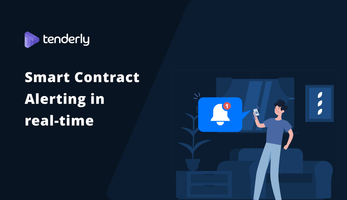 How to set up Real-time alerting for Smart Contracts with Tenderly